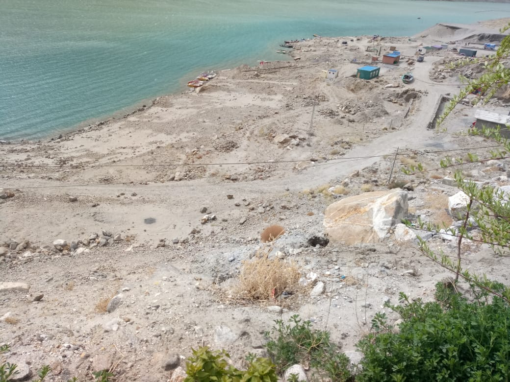 10 Kanal Attabad Lake Land for sale CPEC Road