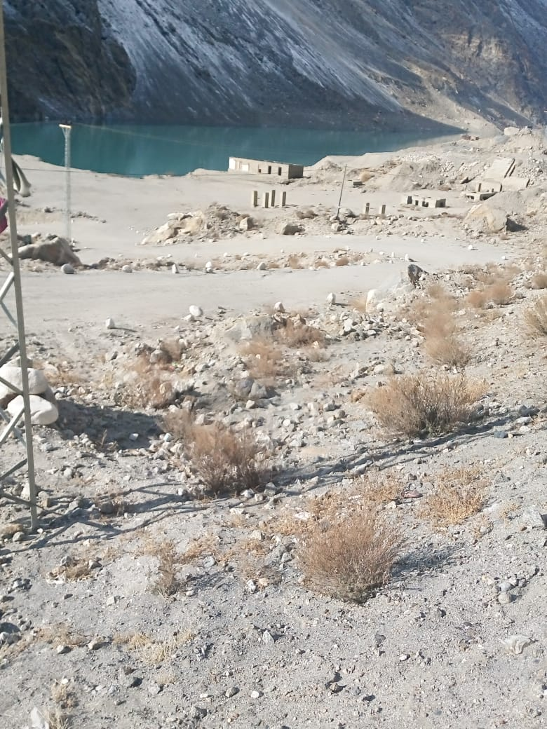 Attabad lake land for sale