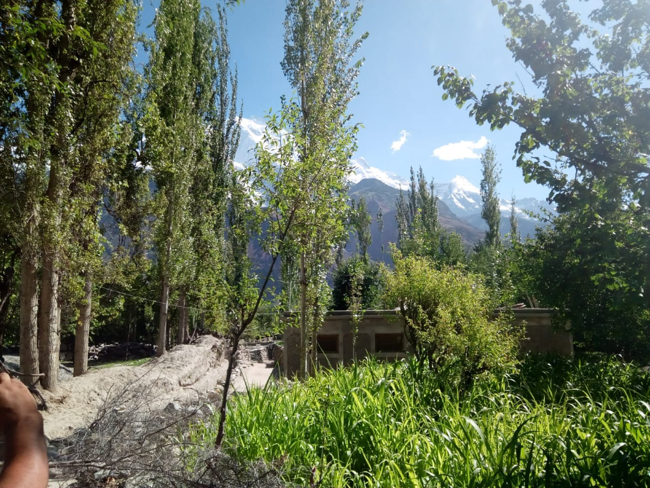 plot for sale in hunza valley